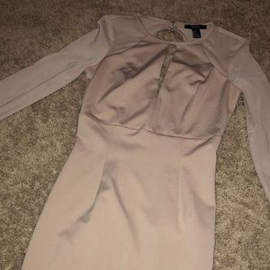 Nude forever 22 dress